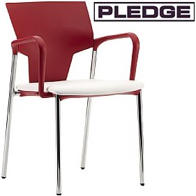 Pledge Ikon 4 Leg Conference Armchair £126 -
