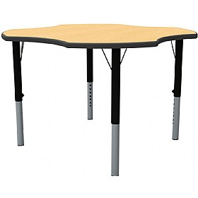 Height Adjustable Clover Theme Table £0 -
