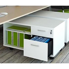 Elite Linnea Mobile Pedestal And Storage Units