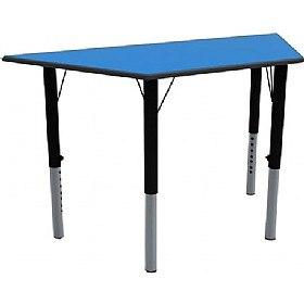 Height Adjustable Trapezoidal Tables £0 -