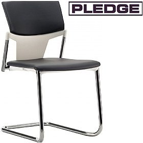 Pledge Ikon Upholstered Cantilever Conference Chair £144 -