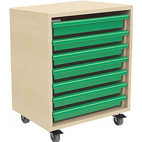 7 Tray Mobile Art & Paper Storage Unit £0 -