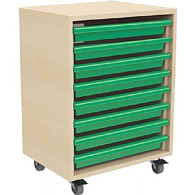 8 Tray Mobile Art & Paper Storage Unit £0 -