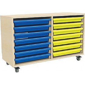 14 Tray Mobile Art & Paper Storage Unit £0 -