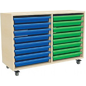 16 Tray Mobile Art & Paper Storage Unit £0 -