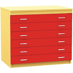 6 Drawer A1 Plan Storage Chest £0 -