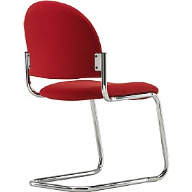 Pledge Arena Rounded Back Cantilever Conference Chair