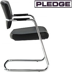Pledge Key Low Back Cantilever Conference Chair £160 -