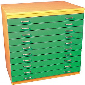 10 Drawer A1 Plan Storage Chest £0 -
