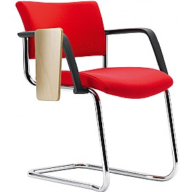 Pledge Arena Square Back Stackable Cantilever Conference Chair