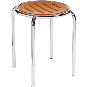 Ringo Wooden Stools (Pack of 4) £52 -