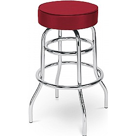 Retro Twist Faux Velvet Bistro/Bar Stool (Pack of 4) £72 -