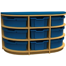Curve D-End Storage Unit