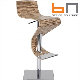 BN Madras Wood Veneer Bistro Stool £368 -
