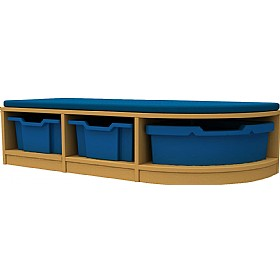 Curve Double Corner Storage Unit
