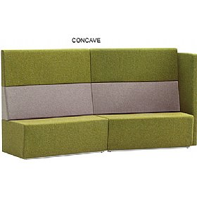 Pledge Fifteen High Back Modular Reception Seating