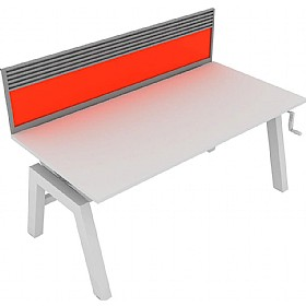 Elite Linnea Elevate Single Bench Acrylic Screens With Managenent Rail £0 -
