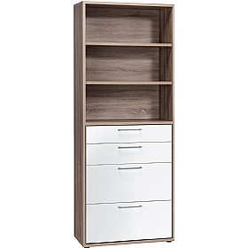 Venture in Harmony Tall Combination Unit With Drawers £306 -