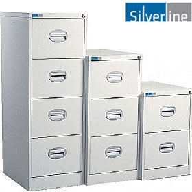 NEXT DAY Silverline Kontrax Filing Cabinets £0 -