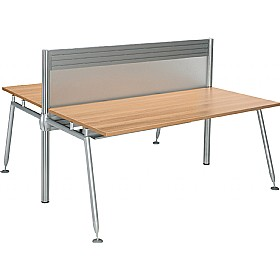 Acclaim Double Sided Rectangular Desks With Screens £898 -