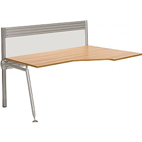Acclaim Wave Add On Desk With Screens £481 -