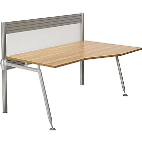 Acclaim Wave Desks With Screens £675 -