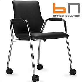 BN Mobile Leather Conversa Chair £182 -
