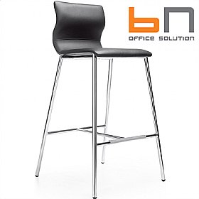 BN Evora Leather Bar Stool