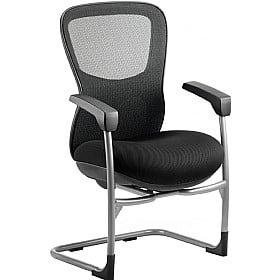 Raptor Mesh and Fabric Cantilever Chair £324 -