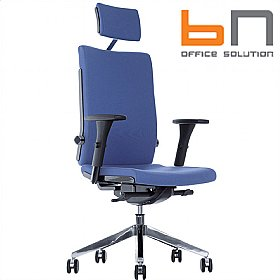BN Belite Fabric Executive Chair With Headrest £324 -
