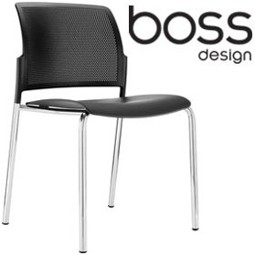 Boss Design Mars 4-Leg Polypropylene Chair £143 -