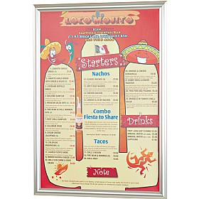 Busygrip Stainless Steel Poster Frames £25 -