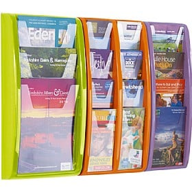Panorama Wall Mounted Leaflet Dispensers £43 -