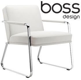 Boss Design Optima Armchair With Sled Base £843 -