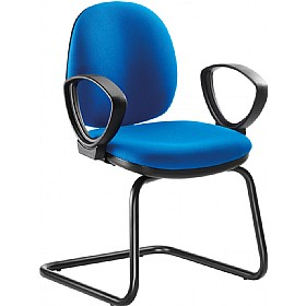 Goal Mid Back Cantilever Visitor Chair £127 -