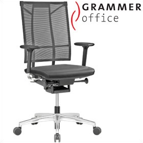 Grammer Office SAIL Leather & Mesh Executive Chair