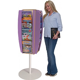 Freestanding Colourama Leaflet Dispenser