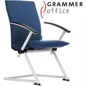Grammer Office Tiger UP Medium Back Microfibre Conference Chair