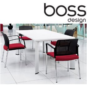 Boss Design Apollo Rectangular Meeting Table £757 -