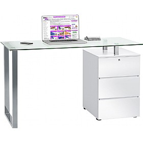 Century Glass Computer Desk £224 -