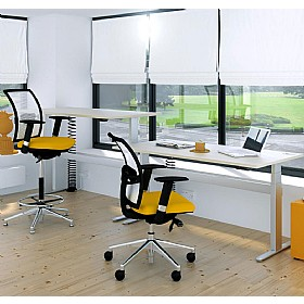 Elite I-Frame Rectangular Electric Sit-Stand Height Adjustable Desks