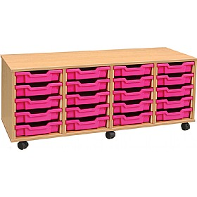 4Store 20 Tray Shallow Storage Unit