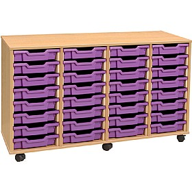 4Store 32 Tray Shallow Storage Unit