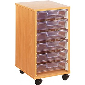 Crystal Clear 6 Shallow Tray Storage Unit £0 -