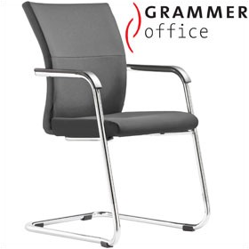 Grammer Office Extra Leather Cantilever Side Chair £322 -