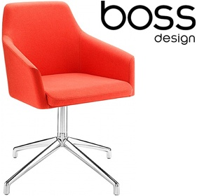Boss Design Toto High Back Swivel Tub Chairs £452 -