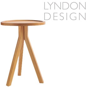 Lyndon Design Triad Table Timber Top £284 -
