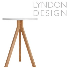 Lyndon Design Triad Table White Top £336 -