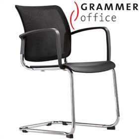 Grammer Office Passu Mesh Back Cantilever Side Chair £150 -