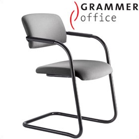 Grammer Office Match Fabric Cantilever Chair £165 -